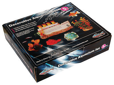 Decorative Aquarium Set Aquarium Ornament Fish Tank Decoration