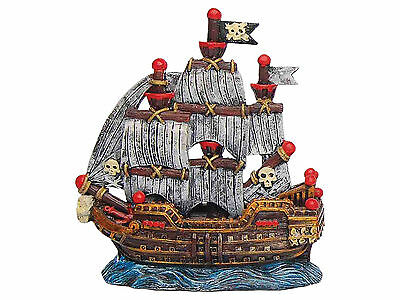 Sailing Ship Aquarium Ornament Fish Tank Decoration