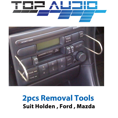 2 x RADIO REMOVAL TOOLS for FORD FALCON AU Series 1-3 car stereo radio keys pins