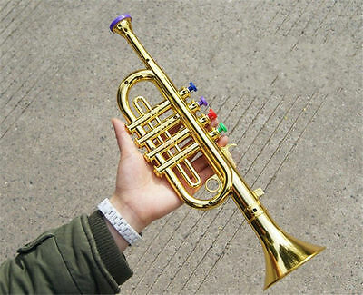 Musical Instrument Toy Simulation Horn Trumpet Toy Educational Toy Kid's Gift