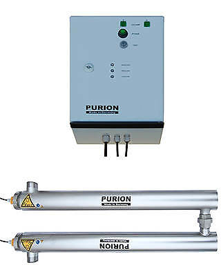 PURION 2501 Dual Basic Poolreinigung UV Desinfektion Algenfreier Pool
