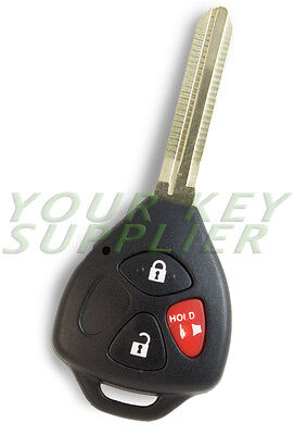 New Uncut Keyless 3 Button Remote Head Key Fob for FCC ID GQ4-29T