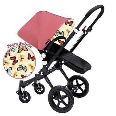 Replacement Pink / Butterfly Canopy hoods for Bugaboo Strollers Choose Styles