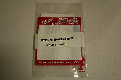 New Milwaukee Carbon Brush for Miter Saw/ Part # 22-18-0387