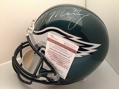 Philadelphia Eagles Autographed DeMarco Murray Green Full Sized Helmet JSA