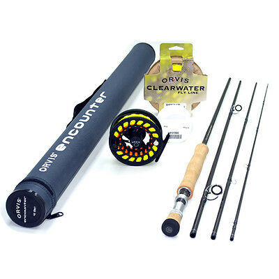 "Orvis Encounter 6-weight 9'6"" Fly Rod Outfit FREE SHIPPING IN THE US"