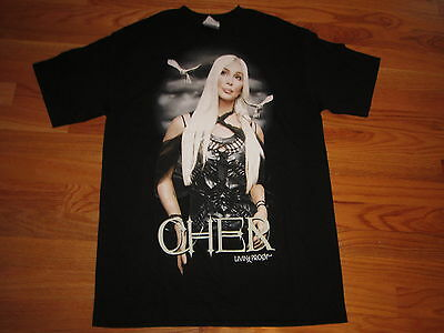 2002 CHER Living Proof FAREWELL Tour Concert (XL) T-Shirt