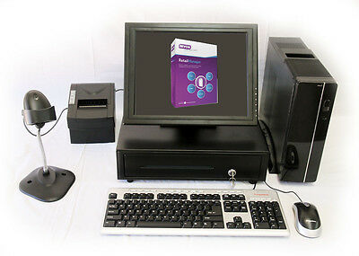 Point of Sale System New With MYOB Retail Manager POS Software and all hardware.