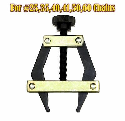 Roller Chain Puller Holder for Chain Size25, 35, 40, 41, 50, 60 ,420, 415,415H