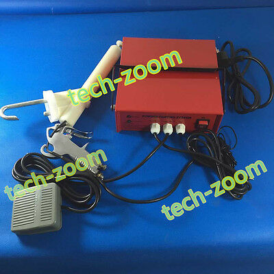 Brand New Portable Powder Coating system paint Gun coat PC03