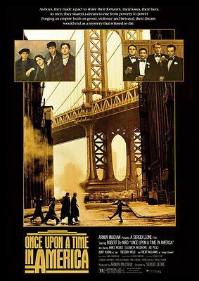 Once Upon A Time In America Repro Film POSTER