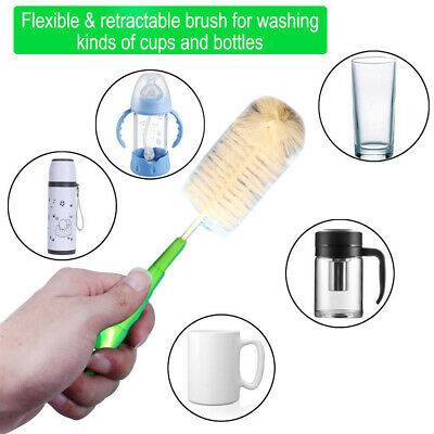 Bottle Cleaning Brush Kitchen Washing Cleaning Tools ! Saving On Multi Buying