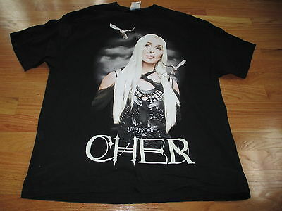 2003 CHER Living Proof FAREWELL Tour Concert (XL) T-Shirt