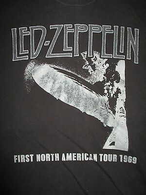 Repro LED ZEPPELIN First NORTH AMERICAN 1969 Tour (MED) T-Shirt