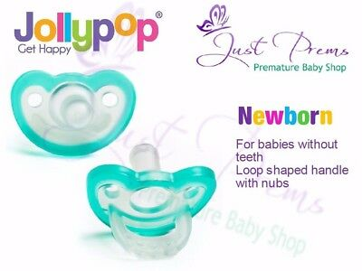 Jollypop ~ the new Gumdrop ~Dummy Pacifier Soother Newborn Teal