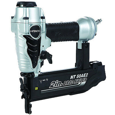 "Hitachi 5/8"" to 2"" 18-Gauge Finish Brad Nailer Factorypkgd NT50AE2 New"