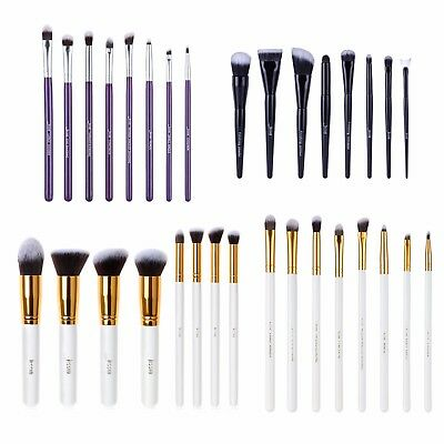 Jessup 8pcs Duo Pro Makeup Brushes Set Kabuki Foundation Eyeshadow Brushes Tools