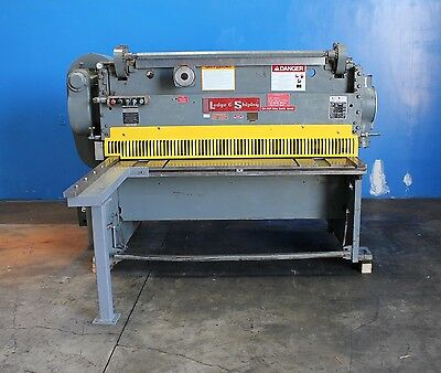 "1/4"" x 06' Lodge & Shipley Model 0406H Power Metal Shear, S/N 48570"