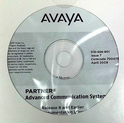 Avaya Advanced Communication System Release 8 and Earlier Documentation Library