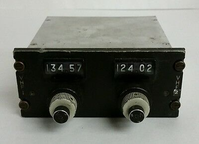 Gables G-1739A Aircraft VHF COMM Radio Control Panel