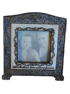 "A Mother's Love 4"" X 4"" Table Top Picture Frame Baby Nursery Mother's Day Gift"