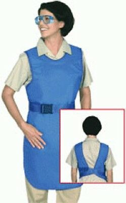 Shielding Surgical Drop off Lead Apron 24x36 Royal Blue MADE IN USA!!! 741301