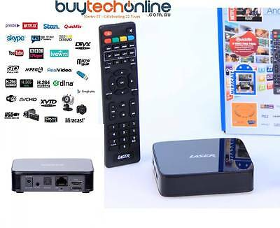 Laser Android 4K Smart Media Player MMC-S30 Full HD, Movies, Music & More