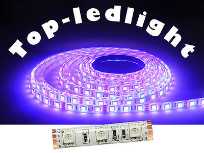 5M 5050 RGB LED Strip 60LED/M IP65 Waterproof with 3M tape DC12V 500cm 300SMD