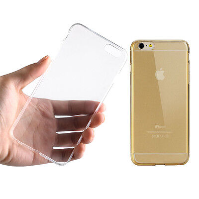 Transparent Case Cover For Iphone 6Plus  Silicone  Matte Clear Tpu Bumper Great