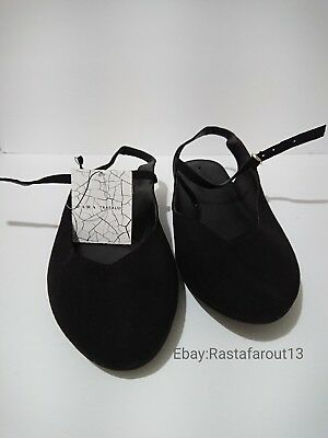 e1e69d9b40f Zara Trafaluc SUMMER Loafer Shoes Womens size 6.5 New with Tags FREE  SHIPPING