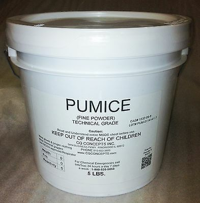 Pumice FFFF Grade Powder 5 pounds Wood Polishing and Art Grade