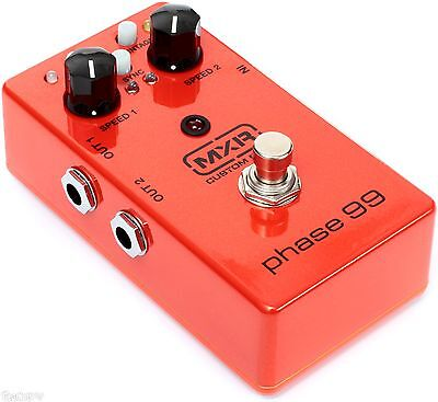 MXR Phase 99 Custom Shop CSP099 Phaser Guitar Effect Pedal 2 Phase 90's in 1 NEW