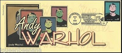 Andy Warhol # 3652 Therome Cacheted First Day Of Issue Cover