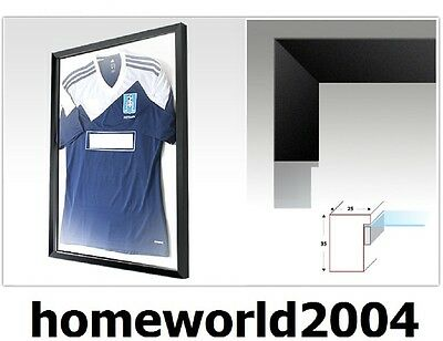 Frame for Football Rugby Shirts - to display Football Rugby T-Shirts