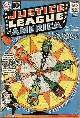 Justice League Of America #6 - VG+