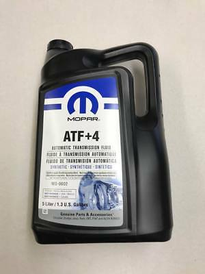 ATF+4 Automatic Transmission Fluid 5L 68218058AC MS-9602 Jeep Chrysler Dodge