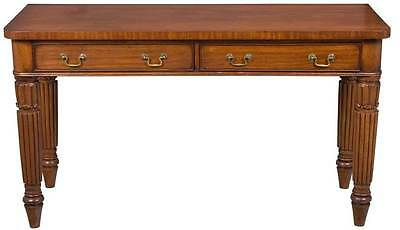 Victorian Antique Sofa Side Table Long With Drawers English Hall End Foyer