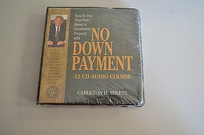 Carleton H Sheets No Down Payment 12 Audio CDs S-30 Sealed