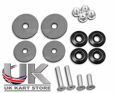 Tillett Genuine Kart Seat Fitting Kit Complete UK KART STORE