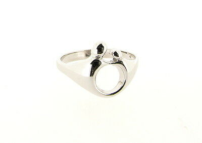 Quality Sterling Silver Mother and Child Ring - Hand Finished - Made in England