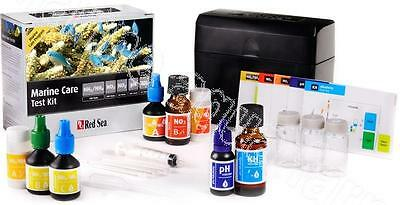 Red Sea Marine Care Test Kit, Reef Coral Aquarium Fish Master, All Tests