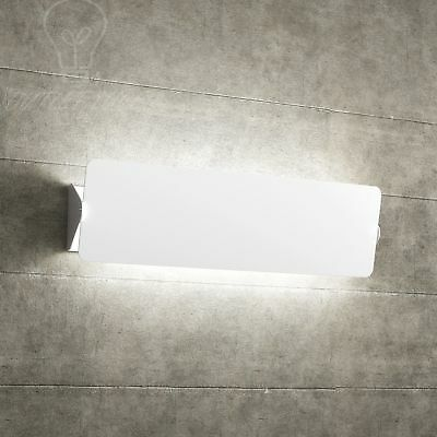 applique grande da muro elegante 2 luci led camera salone design moderno