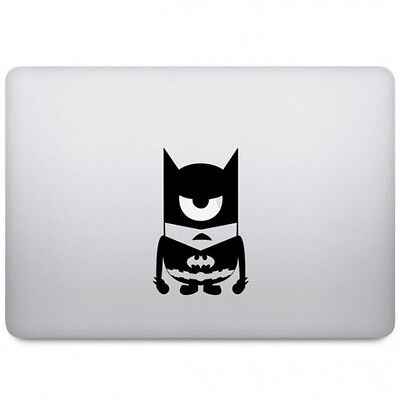 "MINION BATMAN Sticker Autocollant VINYL Decal Macbook Pro/Air/Retina 11"" 13"" 15"""