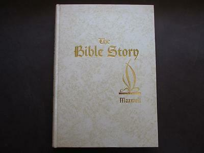 Volume 4 - The Bible Story - Arthur Maxwell - Rare White Cover Edition