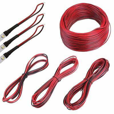 Wholesale 1-100M 2-Pin Extension Wire Connector Cable For 5050 LED Strip Light