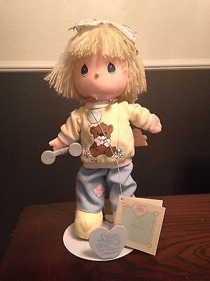 Vintage 1986 Precious Moments Applause 'I miss you' Doll with telephone