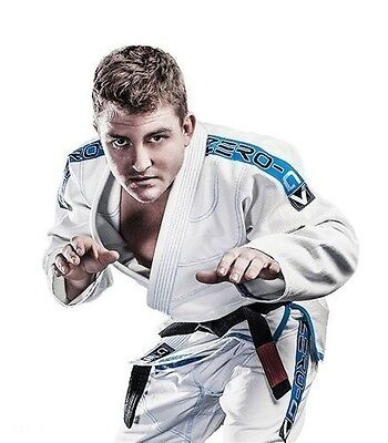 Tatami Zero G V3 Super Light Weight Competition BJJ Brazilian Jiu-Jitsu Gi White
