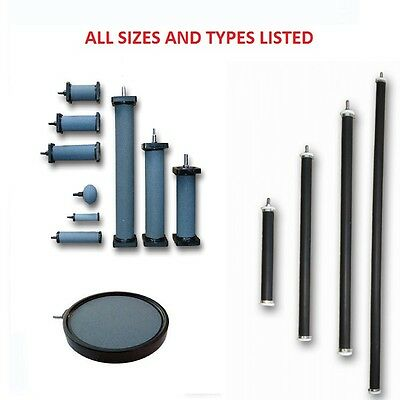 Quality Ceramic & Rubber Air Diffusers Stones Discs Tubes ALL LISTED Pond Air