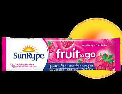 SunRype Fruit to Go - Asst Flavours 14g - Healthy snacks made in Kelowna Canada