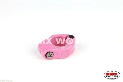 Genuine Dia-Compe MX1500 25.4mm Seat Clamp Freestyle Pink - Old School BMX